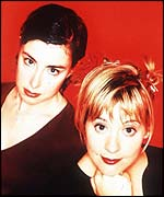 Sue Perkins and Mel Giedroyc (picture: Channel 4)