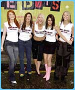 Javine didn't make it into Girls Aloud