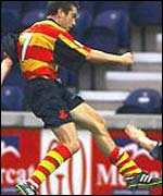 Murray McDowell in action with Partick Thistle