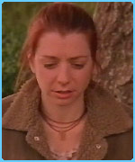Alyson Hannigan as Willow in Buffy
