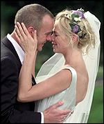 Norman Cook and Zoe Ball