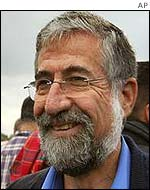 Israel's Labour Party leader Amram Mitzna