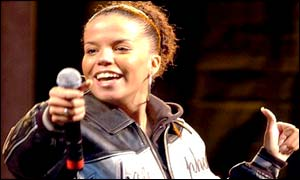 Ms Dynamite on stage