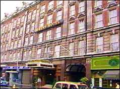 Rubens Hotel, London where one bomb was found
