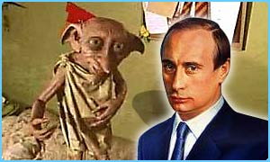 Some people think Dobby looks like Russian president Vladimir Putin