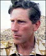 General Patrick Cordingley in fatigues in 1990