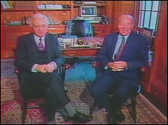 Eduard Shevardnadze and George Shultz