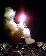 Cruise missile launch (US Department of Defense)