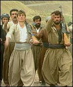 Kurd rebel guerrillas