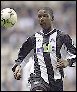 Titus Bramble chases down a clearance