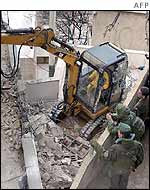 Israeli army destroy house in old city of Jerusalem