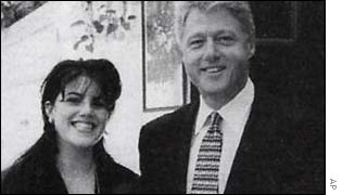 UNALTERED: Monica and Bill were photographed together several times
