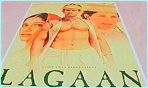 Lagaan was a big Bollywood film that got nominated for an Oscar in 2002