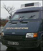 Securicor van