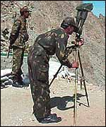 Indian army lookout