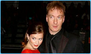 David Thewlis with his girlfriend Anna Friel