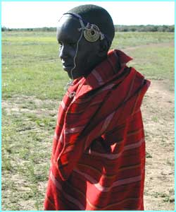 There are more than 300,000 Masai people living in Kenya and Tanzania