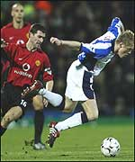 Duff escapes Roy Keane