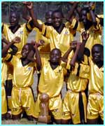 Kampala kids league in Uganda