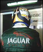 Eddie Irvine spent three uncompetitive years with Jaguar