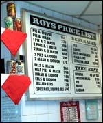 Roy's Pie and Mash shop