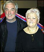 Dagenham club barmaid Pat Shaw and electrician Terry Bennett