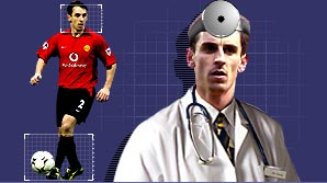 Dr Neville's football surgery is now open