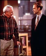 Martin and Niles in Frasier