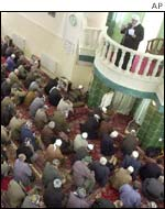 Friday prayers in Iraq