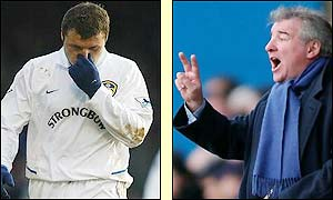 Viduka walks off while manager Terry Venable frantically rearranges the team left on the pitch