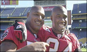 Derrick Brooks the NFL's Defensive Player of the Year