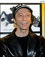 Robin Gibb in Hamburg on 24 January
