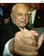 Prime Minister Ariel Sharon looks set to remain in power