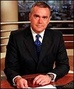 Huw Edwards, who fronts the BBC's Ten O'Clock News
