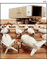 Iraqi chemical bombs