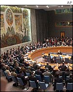 UN Security Council in New York