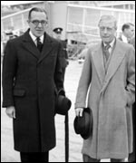 Walter Monckton with Edward VIII