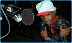 Msawawa in the studio