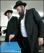 Ultra-Orthodox Jews vote