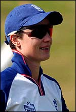England's Claire Taylor