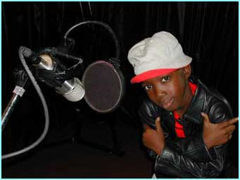 ...change into a proper pop star! Msawawa will be performing at next month's Cricket  World Cup - his biggest gig yet!