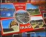 Greetings from Iraq postcard