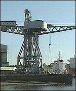 Crane on the Clyde