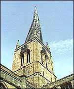 The crooked spire of Chesterfield
