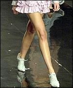 Model's legs