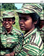 Tamil Tiger women