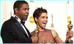 Denzel Washington and Halle Berry got Oscars in 2002