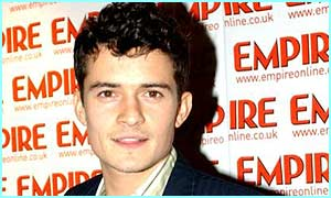 Orlando Bloom won an Empire award for playing Legolas in Lord of the Rings