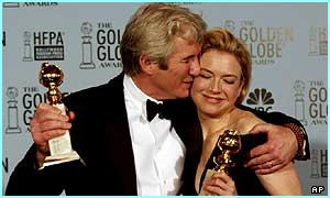 Richard Gere and Renee Zellweger won a Golden Globe for Chicago