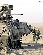 US Army in Kuwait